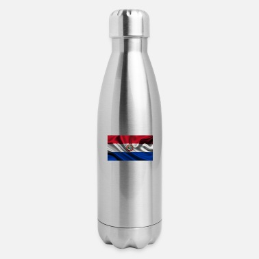 Bandera bandera paraguay - Insulated Stainless Steel Water Bottle