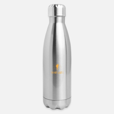 Read If You Can Read This Im Not Last Runner - Insulated Stainless Steel Water Bottle