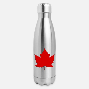 Souvenir Canada Maple Leaf Souvenir Gifts - Insulated Stainless Steel Water Bottle