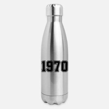Year Of Birth 1970 | Year of Birth | Birth Year | Birthday - Insulated Stainless Steel Water Bottle