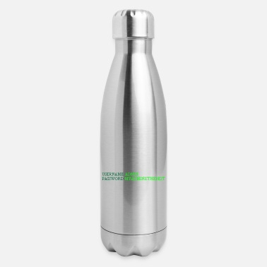 Computer Username Admin Gift Computer Science Programming - Insulated Stainless Steel Water Bottle