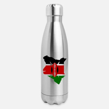 Kenya kenya - Insulated Stainless Steel Water Bottle