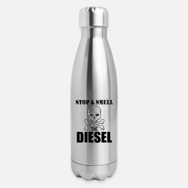 Logbook ROLL COAL TRUCK / DIESEL TRUCK stop & smell - Insulated Stainless Steel Water Bottle