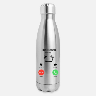 Vacation Beach Summer Vacation Holiday - Insulated Stainless Steel Water Bottle