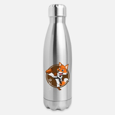 Tae Kwon Do Taekwondo Fox - Insulated Stainless Steel Water Bottle