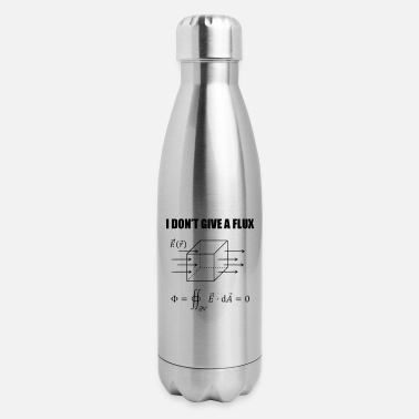 Physics Jokes physics joke - I dont give a flux - Insulated Stainless Steel Water Bottle