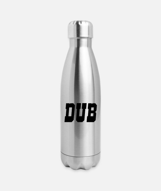 Dub Mugs & Cups - dub - Insulated Stainless Steel Water Bottle silver