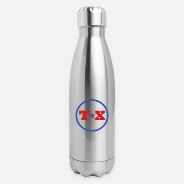 TX For Texas - Insulated Stainless Steel Water Bottle