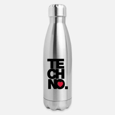 Techno TECHNO MUSIC - Insulated Stainless Steel Water Bottle