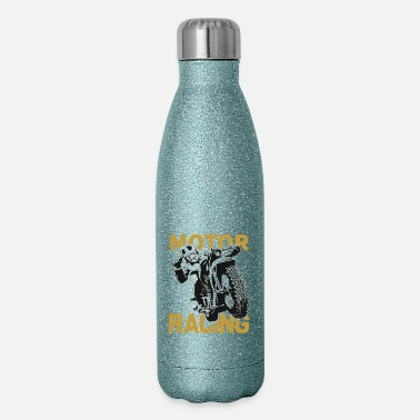 Motor Race Motor Racing Team - Insulated Stainless Steel Water Bottle