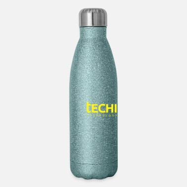 Technology Technology Round - Insulated Stainless Steel Water Bottle