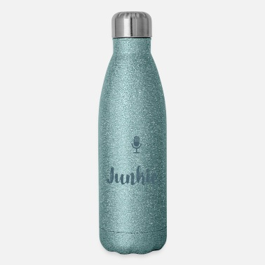 Podcast Addict Funny Podcast Junkie Podcasters - Insulated Stainless Steel Water Bottle