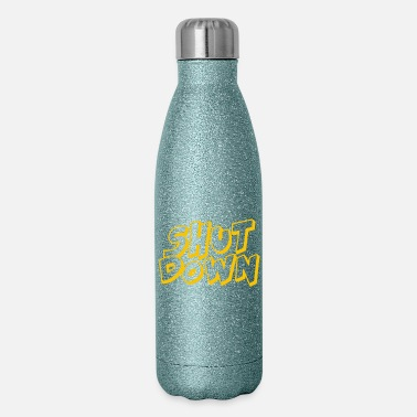 Down Shut Down - Insulated Stainless Steel Water Bottle