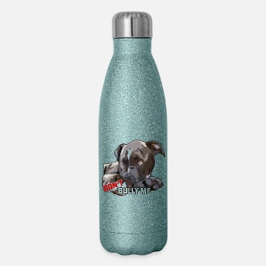 Cute Baby Pit Bull Puppy - Anti Bullying - Insulated Stainless Steel Water Bottle