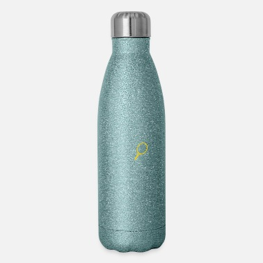Tennis A Tennis Player Plays The Ball - Insulated Stainless Steel Water Bottle