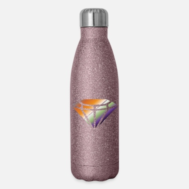 Ring diamond - Insulated Stainless Steel Water Bottle