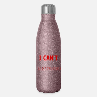 Sport I Can't I Have Taekwondo - Insulated Stainless Steel Water Bottle