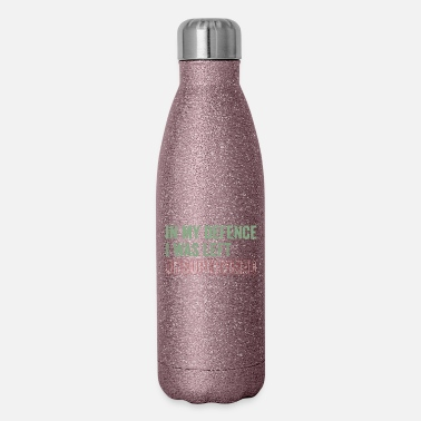 Defence In My Defence - Insulated Stainless Steel Water Bottle