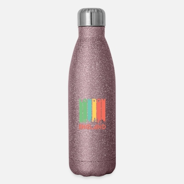 London Retro London Skyline - Insulated Stainless Steel Water Bottle