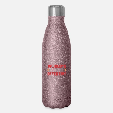 Investigacion Detective - World's Best Detective - Gift Idea - Insulated Stainless Steel Water Bottle