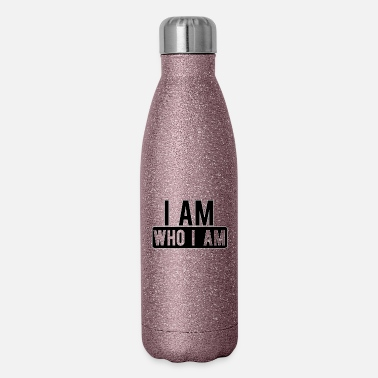 Am I AM WHO I AM - Insulated Stainless Steel Water Bottle