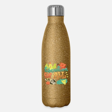 Liberation Vegan - Liberation For All - Insulated Stainless Steel Water Bottle