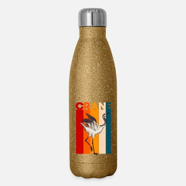 Bird Crane - Insulated Stainless Steel Water Bottle