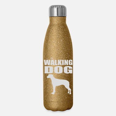 Dog-walking THE WALKING DOG - Insulated Stainless Steel Water Bottle