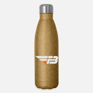 Factor B FBL White & Orange (nname - Insulated Stainless Steel Water Bottle