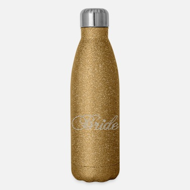 Rhinestone Rhinestone Bride - Insulated Stainless Steel Water Bottle