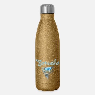 Tempest Funny Tornado Chaser Just One More Tornado I Promi - Insulated Stainless Steel Water Bottle