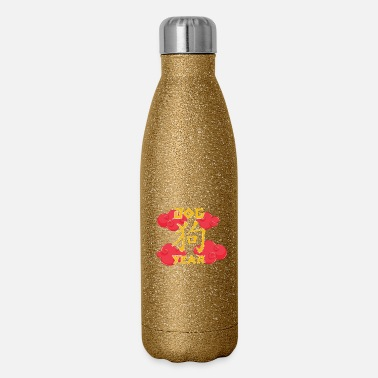 Chinese Chinese Zodiacs gift for Chinese - Insulated Stainless Steel Water Bottle