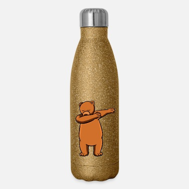 80kingz Bear Dab by 80Kingz - Insulated Stainless Steel Water Bottle