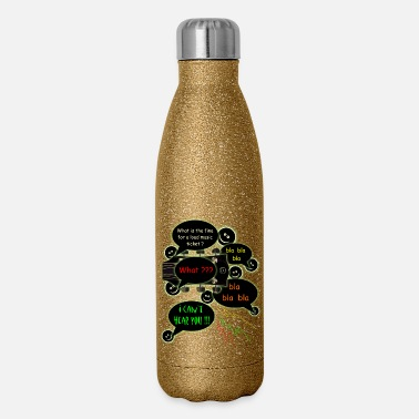 Loud Music Loud music ticket - Insulated Stainless Steel Water Bottle