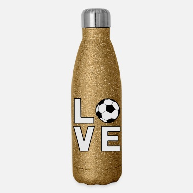 Worldcup Love Soccer Football Worldcup - Insulated Stainless Steel Water Bottle
