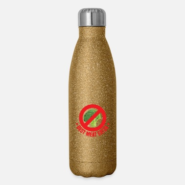 meat eater AF - Insulated Stainless Steel Water Bottle