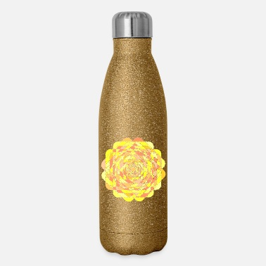 Pattern pattern - Insulated Stainless Steel Water Bottle