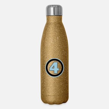 Four fantastic 4 - Insulated Stainless Steel Water Bottle