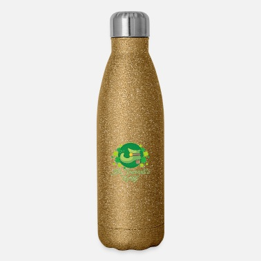 Boot St. Patricks Day boots lucky leaves - gift idea - Insulated Stainless Steel Water Bottle