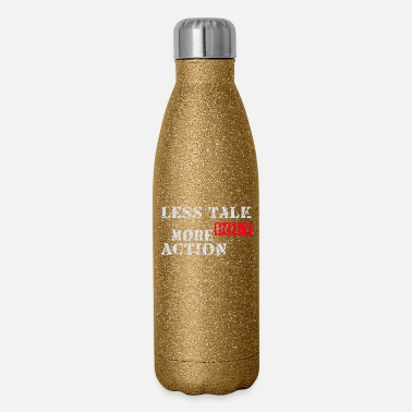 Bolt Action Less talk more bolt action - Insulated Stainless Steel Water Bottle