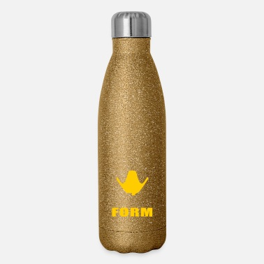 Form zenyatta true form is without form - Insulated Stainless Steel Water Bottle