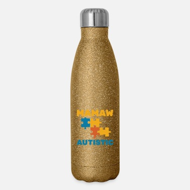 Shape Autism Awareness Autism Awareness - Insulated Stainless Steel Water Bottle