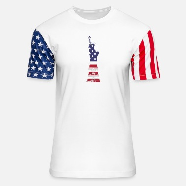 Red White And Blue Red White And Blue - Unisex Stars & Stripes T-Shirt