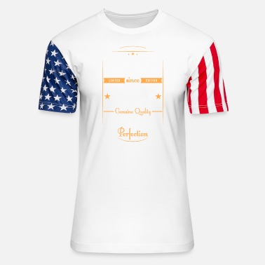 Genuine Retro Vintage Original Birthday Design Year 2000 - Unisex Stars & Stripes T-Shirt