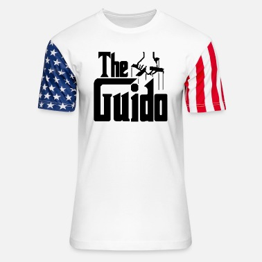 Guido The Guido - Unisex Stars & Stripes T-Shirt