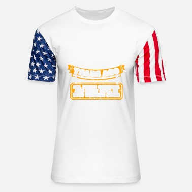 Built In The 60 60th birthday gift idea: Built 60 years ago Shirt - Unisex Stars & Stripes T-Shirt
