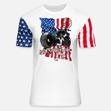 Thunderbike Nightclub Custom United States - Unisex Stars & Stripes T-Shirt