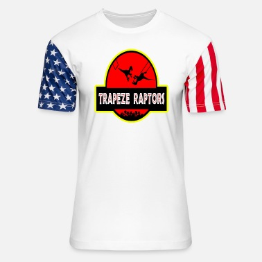 Ungulate Trapeze reptors - Awesome t-shirt for raptors lo - Unisex Stars & Stripes T-Shirt
