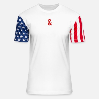 Thoughts Thoughts and Prayers - Stars & Stripes T-Shirt