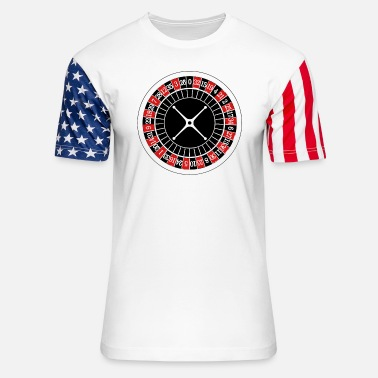 Roulette Let's Take A Spin - Stars & Stripes T-Shirt